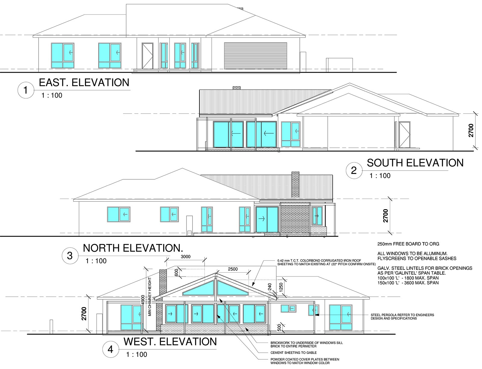 Plans for a new family room house extension