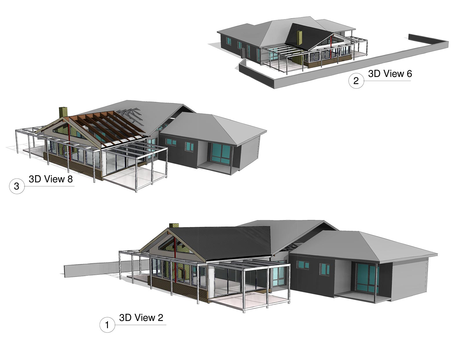 House extension to include a new family room