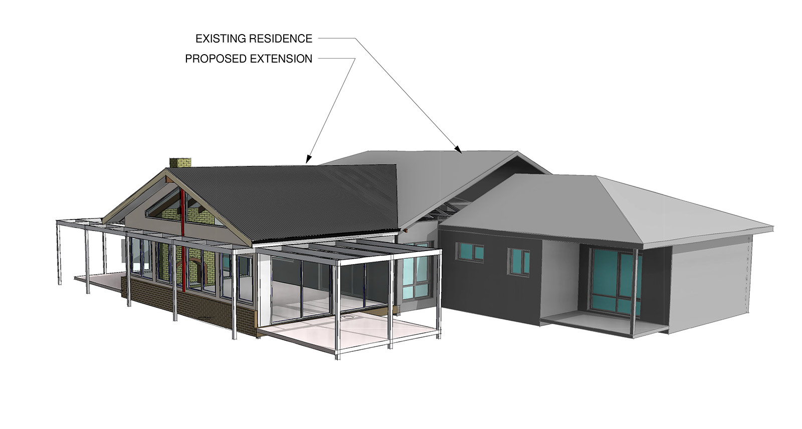 Family Room House Extension