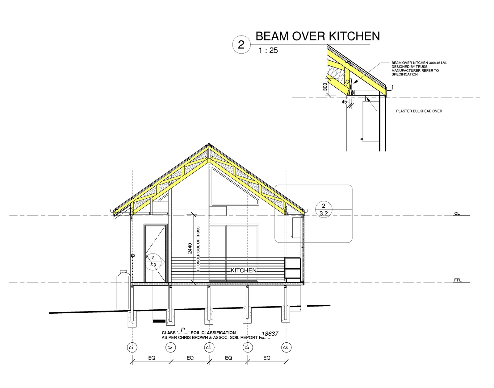 Small Cabin Plans for kitchen and meals